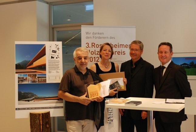 Architekten Rosenheim preisverleihung holzbaupreis 2012