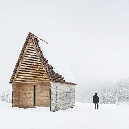 2. Preis – Öffentlicher Bau/Gewerbe: Bergkapelle Kendlbruck