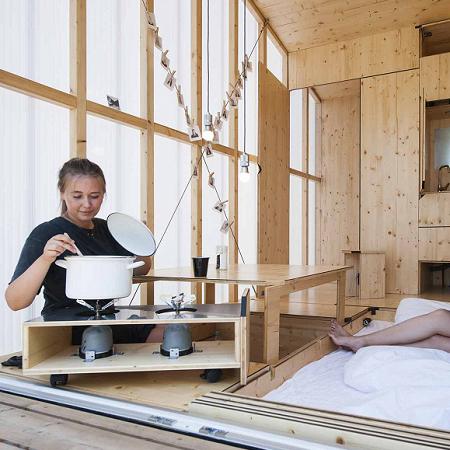 Leben in 35 Kubik Tiny House