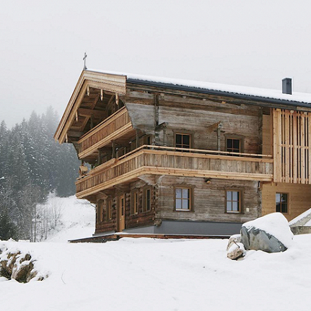 Revitalisierung Hof Neuhäusl in Scheffau/Tirol