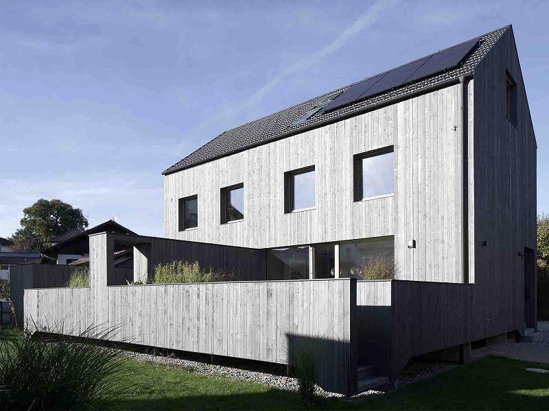1. Preis – Wohnungsbau: Doppelhaus in Glonn